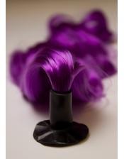 Kunsthaarzopf lila